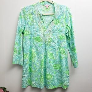 Lilly Pulitzer Tunic top V-neck Sz S